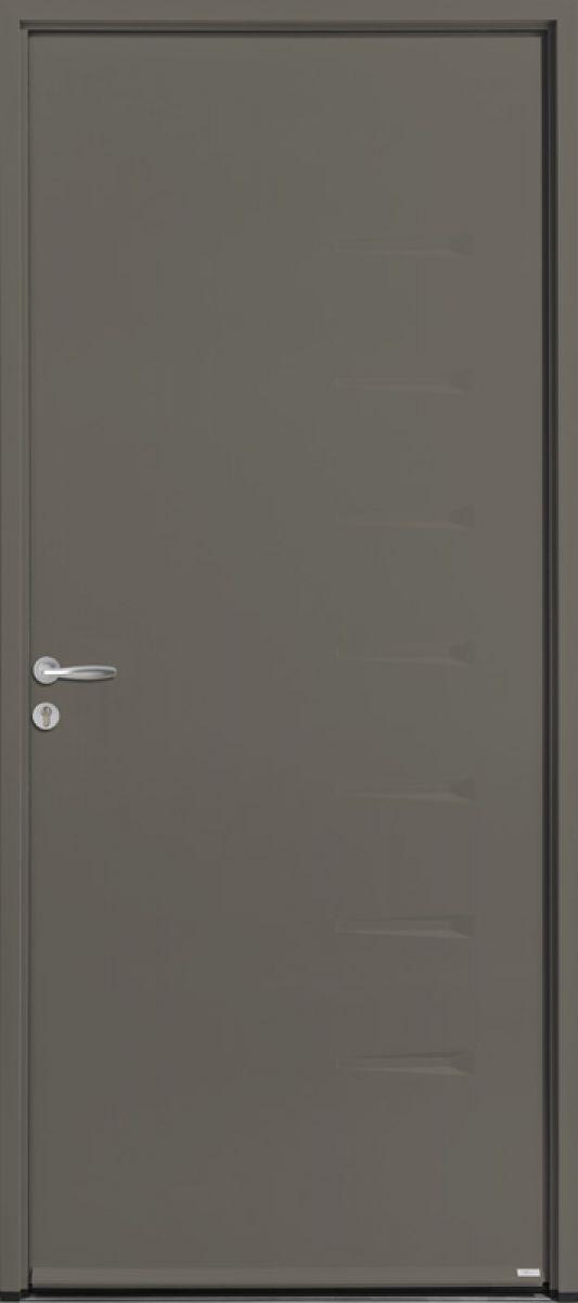 Aki face extérieure, couleur rouge RAL 3013 satiné