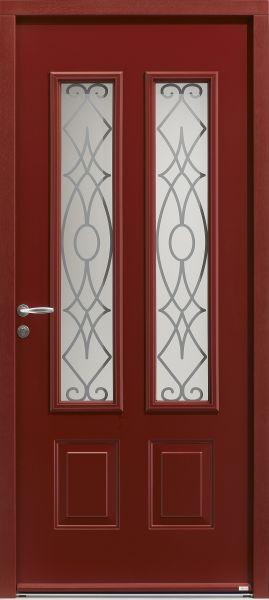 <p>Albion face extérieure, couleur rouge RAL 3004<br></p>