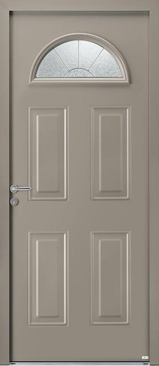 Aloé 1 face extérieure, couleur gris RAL 7030