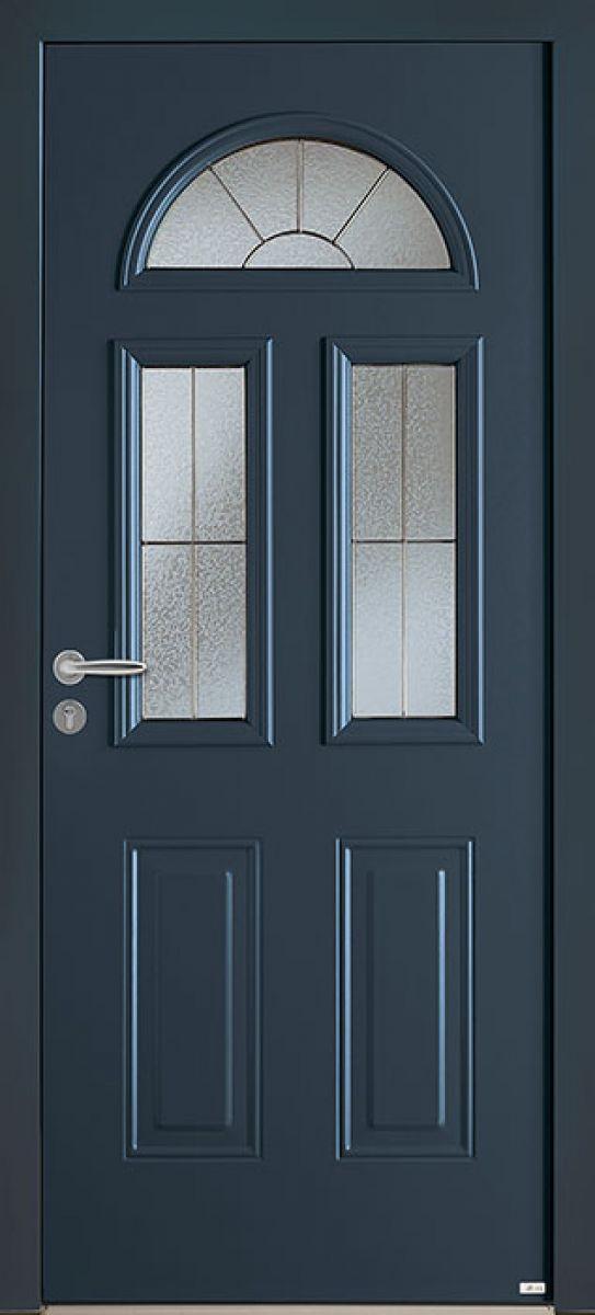 Aloé 2 face extérieure, couleur bleu 2700 texturé