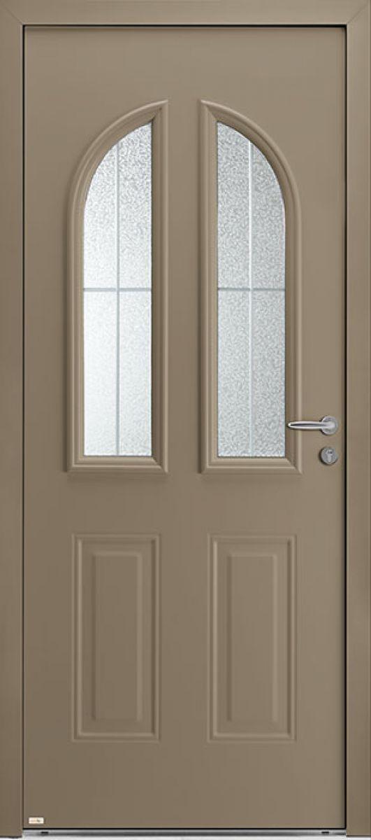 Aloé 3 face extérieure, couleur bronze texturé