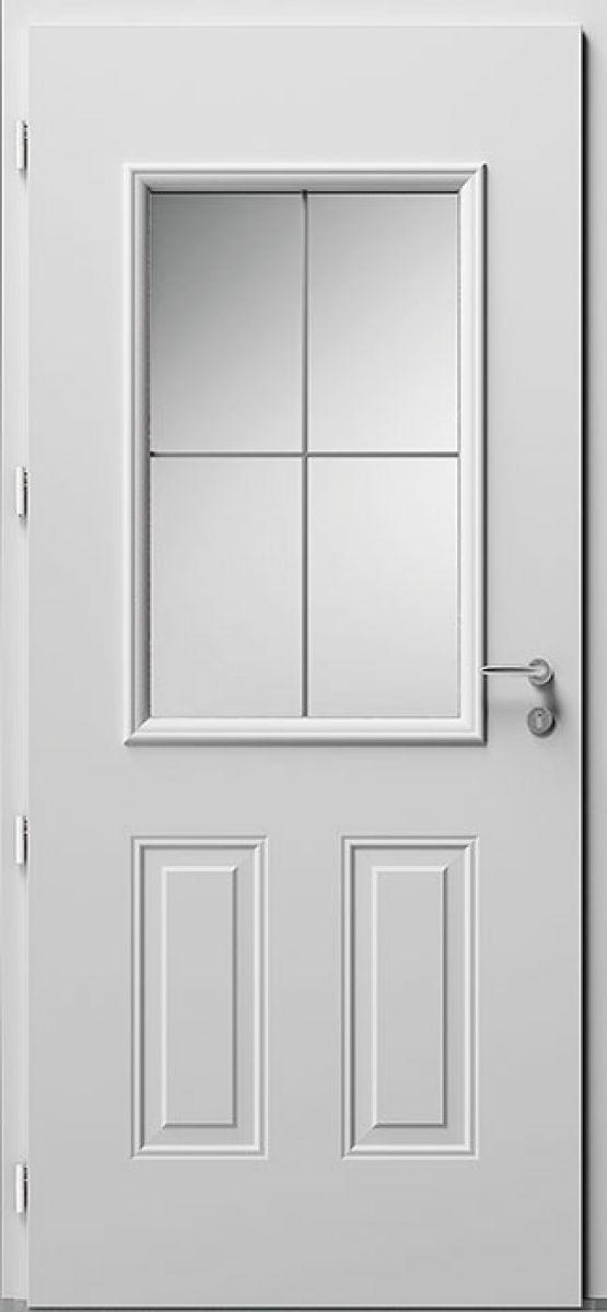 Porte d'entrée Aluminium Aloé 4