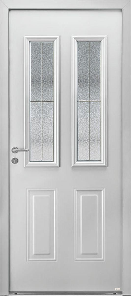 Aloé 5 face extérieure, couleur gris 7047 satiné