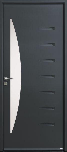 Amaya-20 face extérieure, couleur gris RAL 7039