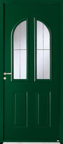 Calvi face extérieure, couleur vert Ral 6005