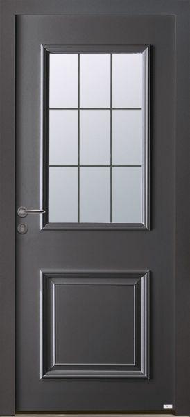 Camas face extérieure, couleur gris 2900 texturé