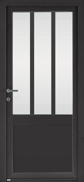 Candel 98 face extérieure, couleur noir 2100 texturé