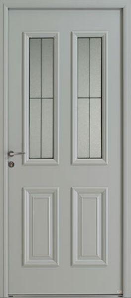 Celesta Duo face extérieure, couleur gris 7035 satiné (OPTION)