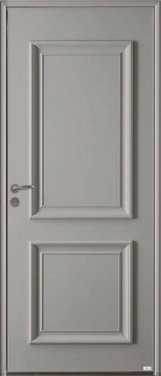 Cosco Duo, face extérieure, couleur gris 7004 satiné