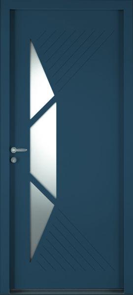 Cytiss 12 face extérieure, couleur bleu 2700 texturé