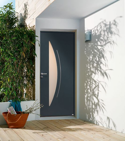<p>Porte d'entrée Aluminium Cytiss 7<br></p>