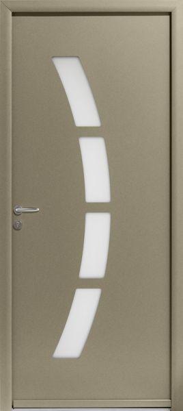 Cytiss 8 face extérieure, couleur gris perle 2800 texturé