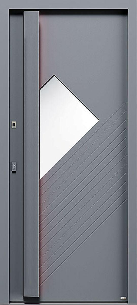 Elektro 2, vue extérieure couleur gris 2400 texturé