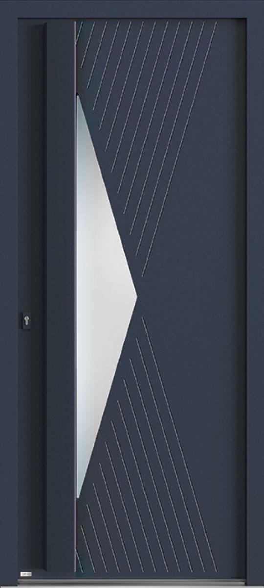 Elektro 3.1 face extérieure, couleur gris 7016 texturé