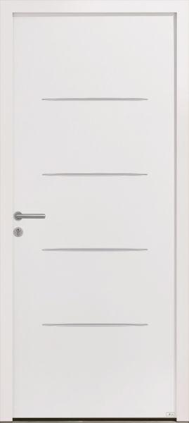 Griff 1 Duo, face extérieure, couleur blanc 9016 texturé