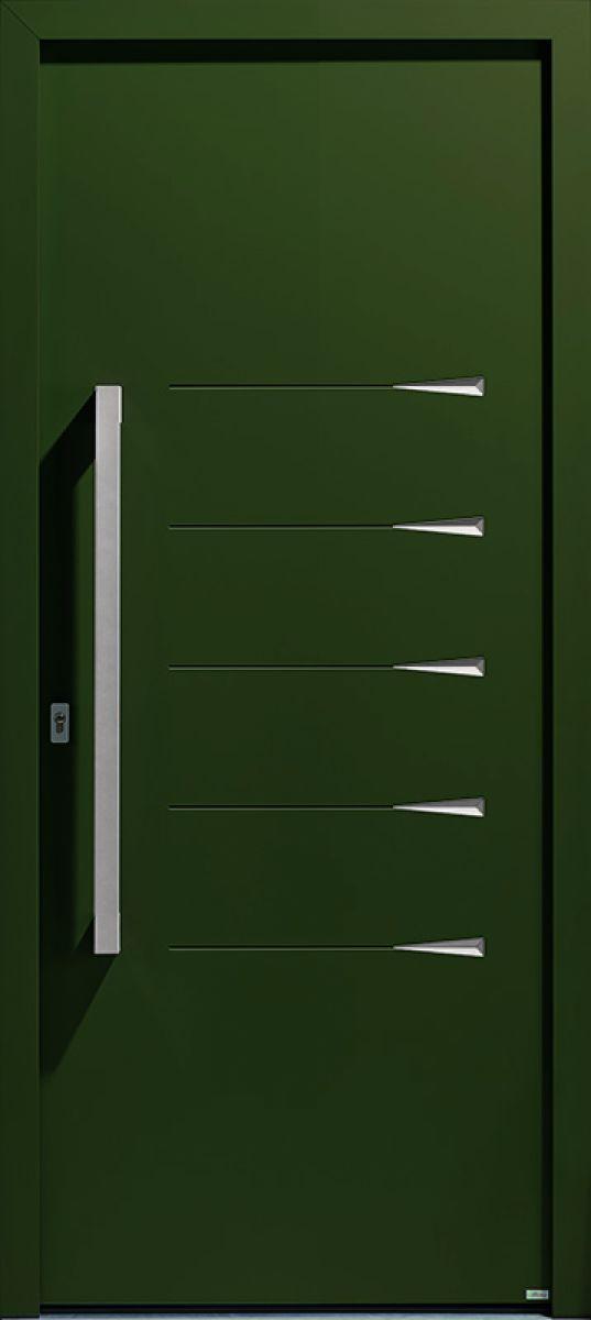 Griff 2.1 face extérieure, couleur vert texturé
