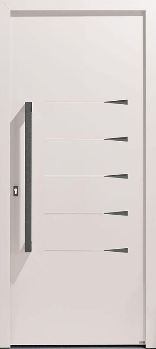<p>Griff 2.3 face extérieure, couleur rouge gris 7016 texturé</p>