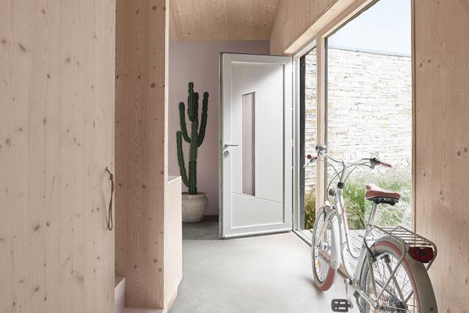 <p>Porte d'entrée PVC Kellys 5<br></p>