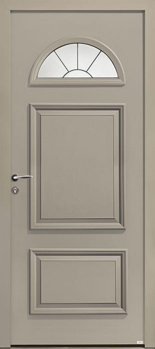 Linosa face extérieure, couleur gris perle 2800 texturé