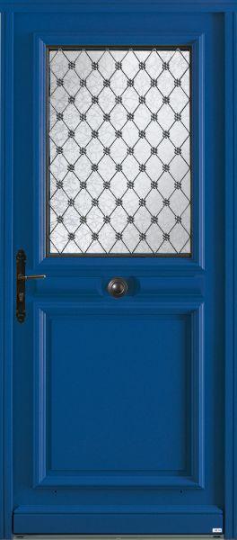 Lutèce, vue extérieure, couleur bleu 5010