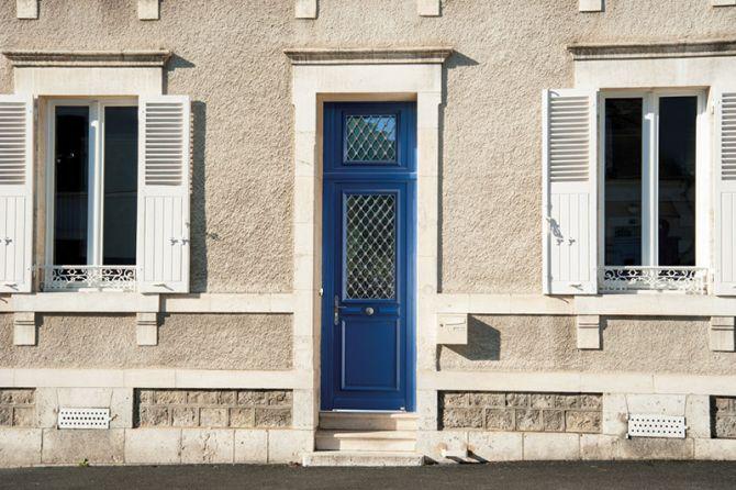 <p>Porte entrée Bois Lutèce</p>