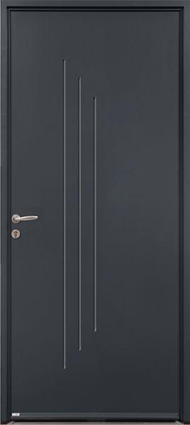 Neko 2 face extérieure, couleur gris RAL 2400 texturé