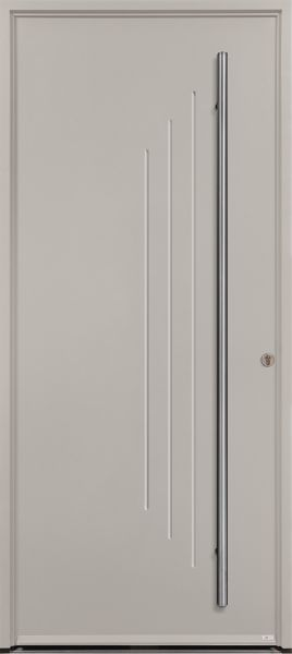 <p>Porte d'entrée Acier Neko 2 avec option barre de tirage.</p>