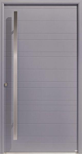 Opus 1 Duo face extérieure, couleur gris 7004 satiné