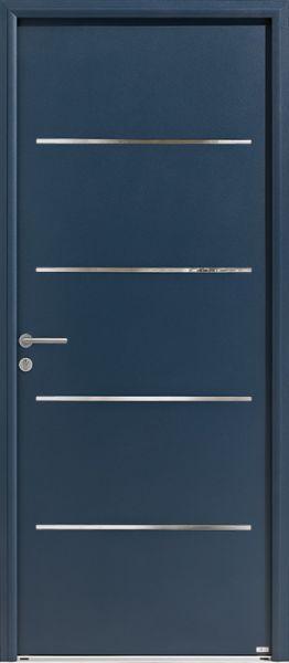 Opus 2 Duo face extérieure, couleur bleu 2700 texturé