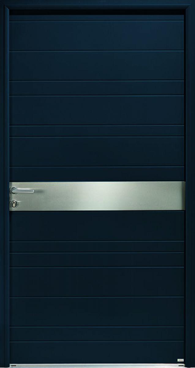 Opus 3 duo, face extérieure, couleur gris 7016 texturé