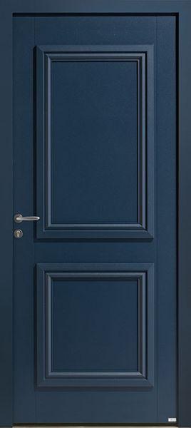 Picto 1 face extérieure, couleur bleu 2700 texturé