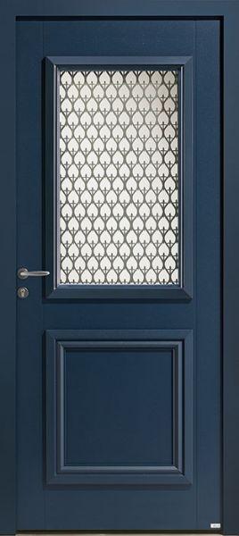 Picto 3 face extérieure, couleur bleu 2700 texturé