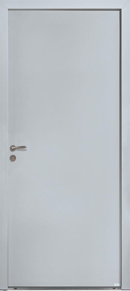 PS17 face extérieure, couleur gris 7035 satiné
