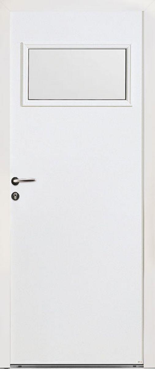 PS27 face extérieure, couleur blanc 9016 satiné