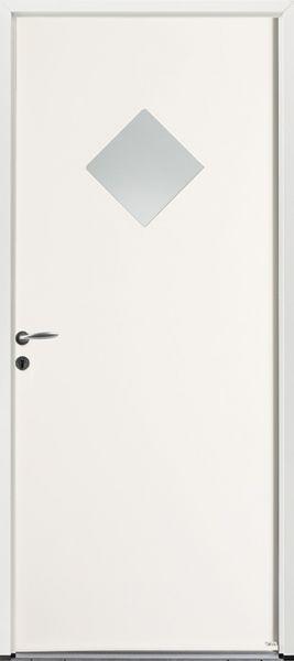 PSL-19 face extérieure, couleur blanc 9016 satiné