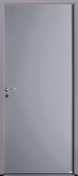 PSP face extérieure, couleur gris 7004 satiné