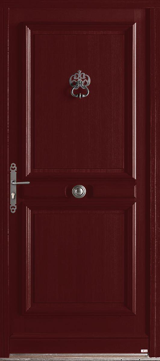 <p>Samazan face extérieure, couleur rouge RAL 3004 en option<br></p>