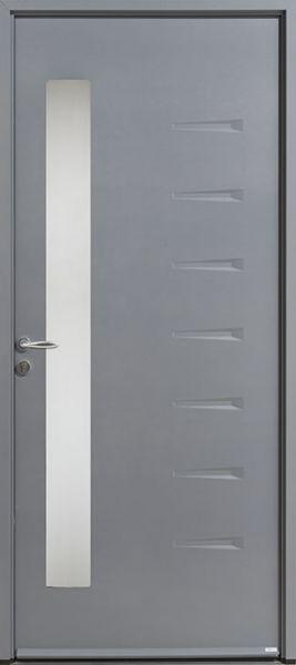 Sela-20 face extérieure, couleur gris 2400 texturé