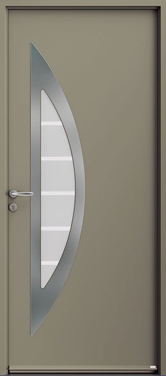Silk-201 face extérieure, couleur gris 7039 satiné