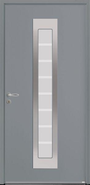 Silk-202 face extérieure, couleur gris 2400 satiné